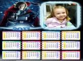 Calendário Thor 2017