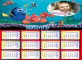 Calendário Nemo Peixinho 2017