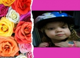 FotoMoldura Rosas Coloridas