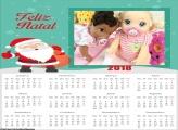 Calendário Feliz Natal 2018