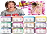 Calendário da Sou Luna 2018