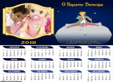 Calendário O Pequeno Príncipe  2018