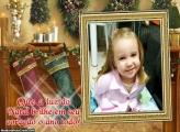 Foto Moldura Meias de Natal