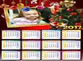 Calendário Natal Árvore Natalina 2017