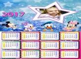 Calendário Baby Disney 2017