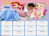 Calendário Princesas Amigas 2018