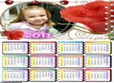 Calendário Flor 2017