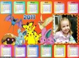 Calendário dos Pokémons 2017