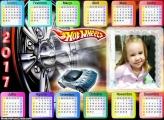 Calendário Hot Wheels 2017
