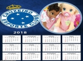Calendário Cruzeiro 2018