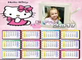 Calendário Hello Kitty 2017