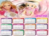 Calendário Barbie Boneca 2018