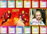 Calendário Iron Man 2017