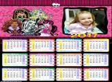 Calendário da Monster High 2017
