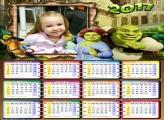 Calendário do Filme Shrek 2017