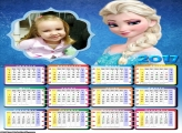 Calendário Elsa Frozen 2017