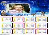 Calendário Natal Boneco de Neve 2017