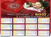 Calendário Corinthians Time do Coração 2017