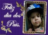 FotoMoldura Feliz Dia Dos Pais Papai