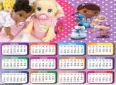 Calendário da Doutora Brinquedos 2018