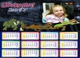 Calendário Scooby Doo Be Doo Monstros 2017