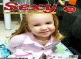 Capa de Revista Sexy FotoMoldura