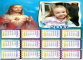 Calendário de Jesus Cristo 2017