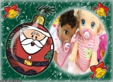 Papai Noel na Bola de Natalina