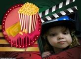 FotoMoldura Pipoca e Filme