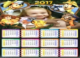 Calendário Safari do Mickey Disney 2017