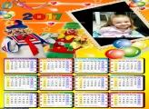 Calendário do Patati Patatá 2017
