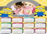 Calendário dos Minions 2018