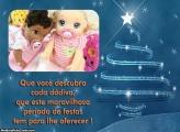 Cartão de Férias de Natal FotoMoldura