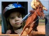 FotoMoldura Cowboy Prova Tambor