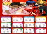 Calendário da Ladybug 2018