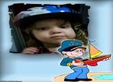 FotoMoldura Pequeno Marinheiro
