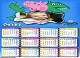 Calendário George da Peppa Pig 2017