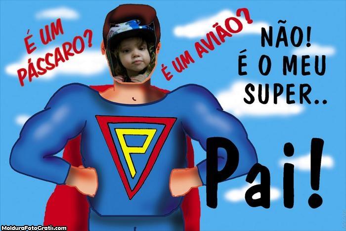 FotoMoldura Super Pai