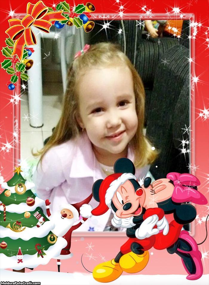 Natal do Mickey e da Minnie