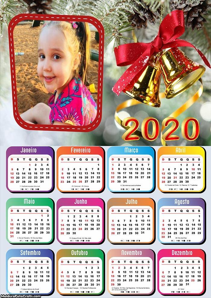 Calendário Sinos de Natal 2020