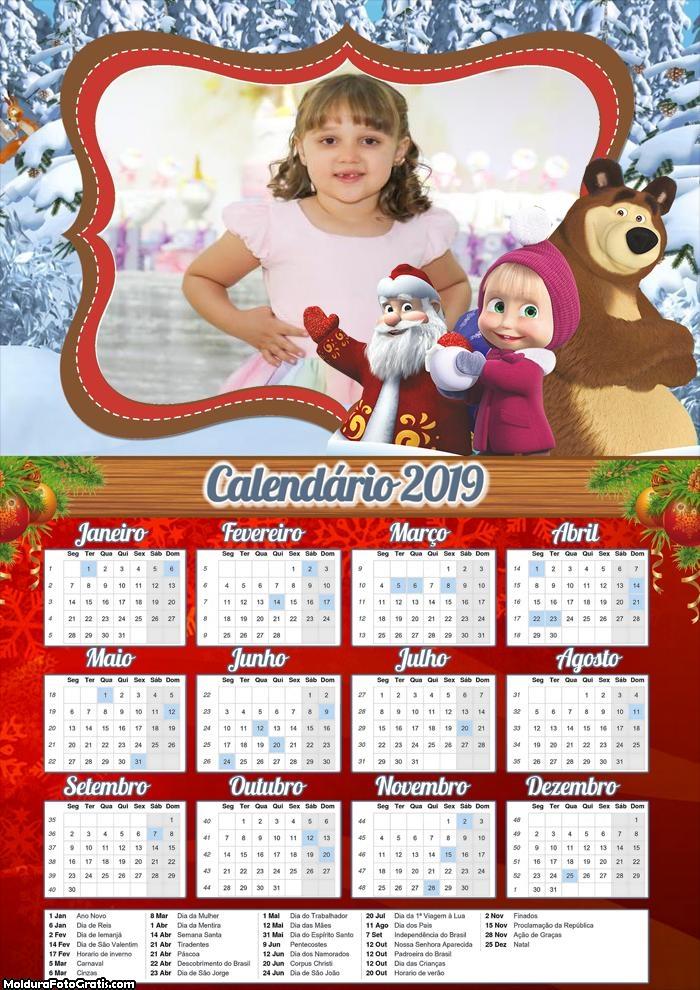Calendário Natal Masha 2019