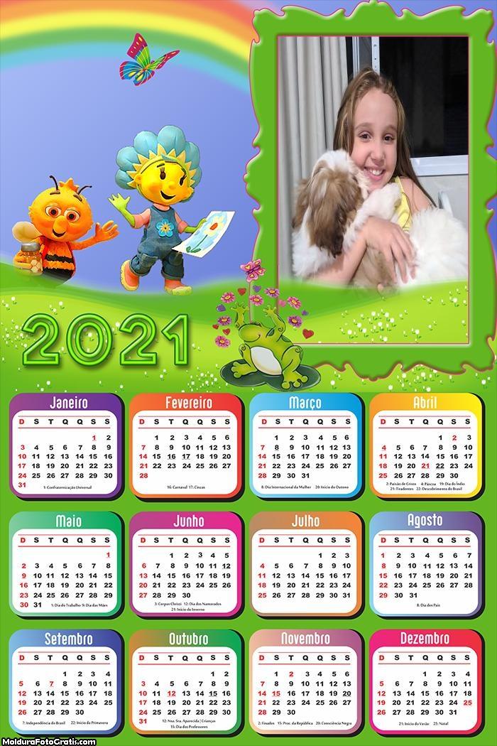 Calendário Fifi e os Floriguinhos 2021
