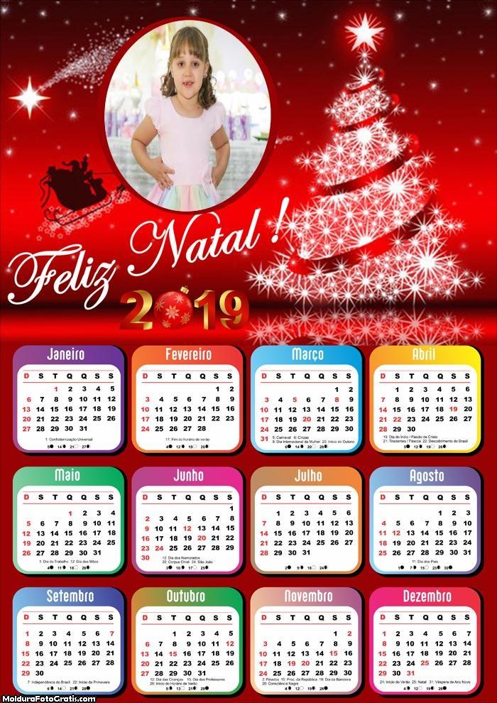 Calendário Natal de Maravilhoso 2019