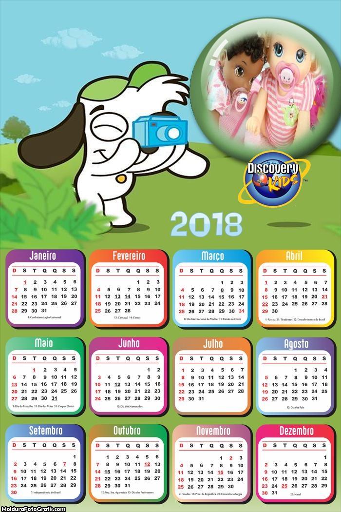 Calendário Cão DOKI 2018