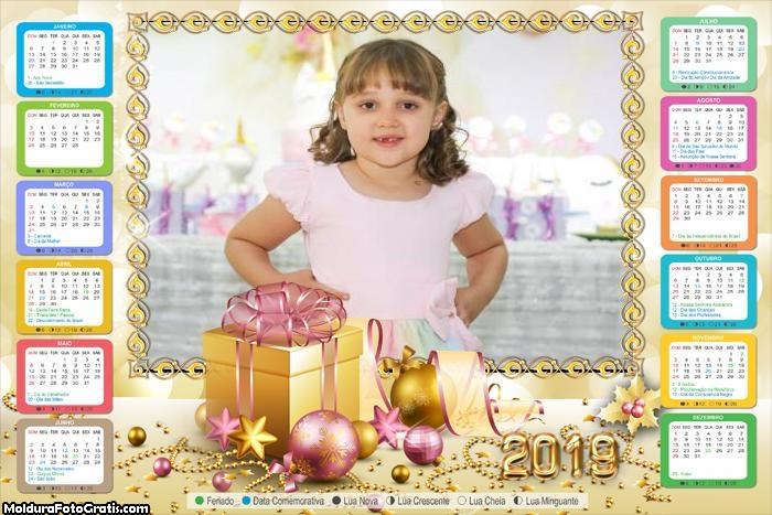 Calendário Dia do Natal 2019