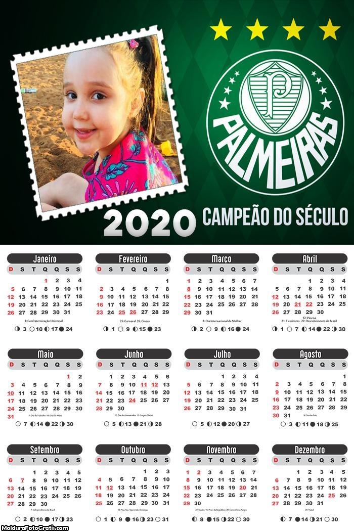 Calendário do Palmeiras 2020