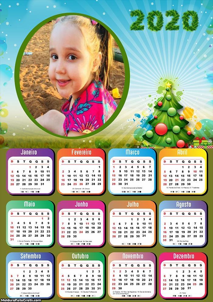 Calendário Natal Magia 2020