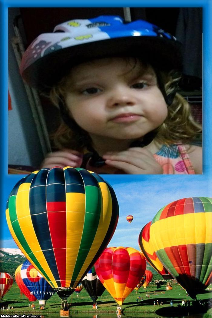 Moldura Festival de Balões