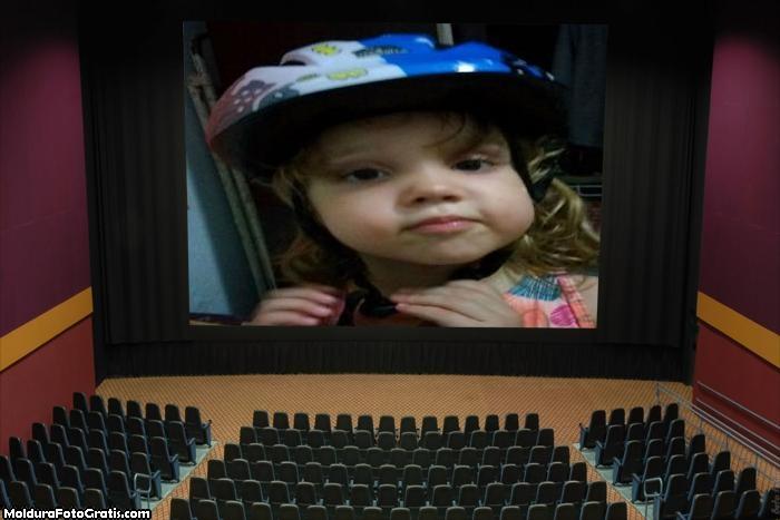 FotoMoldura Tela de Cinema