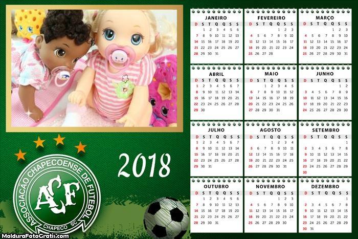 Calendário Chapecoense 2018